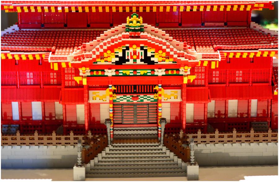 レゴで世界遺産・助手4
