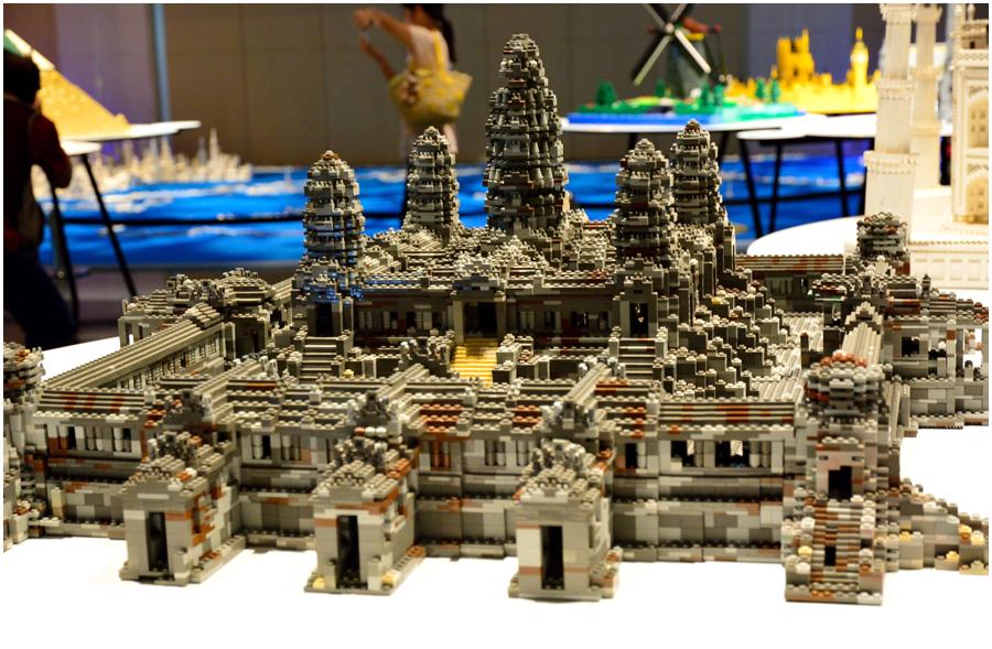 レゴで世界遺産・助手