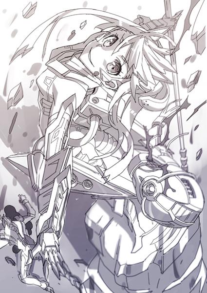 鋼鉄の戦姫02