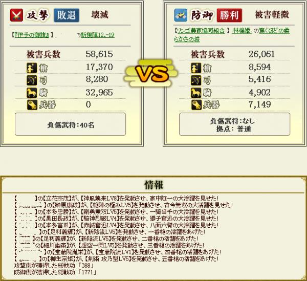 林檎姫盟主戦1