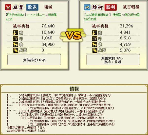 林檎姫盟主戦4