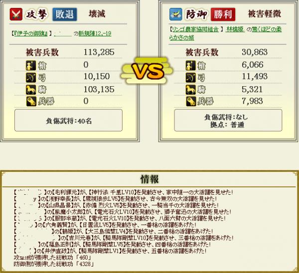 林檎姫盟主戦5