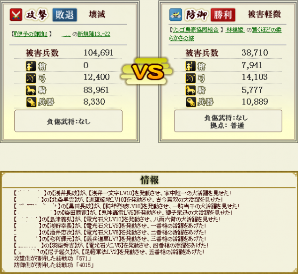 林檎姫盟主戦6