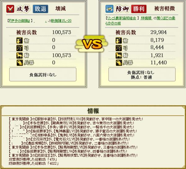 林檎姫盟主戦8