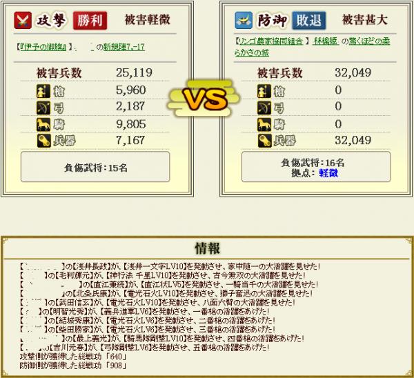 林檎姫盟主戦11