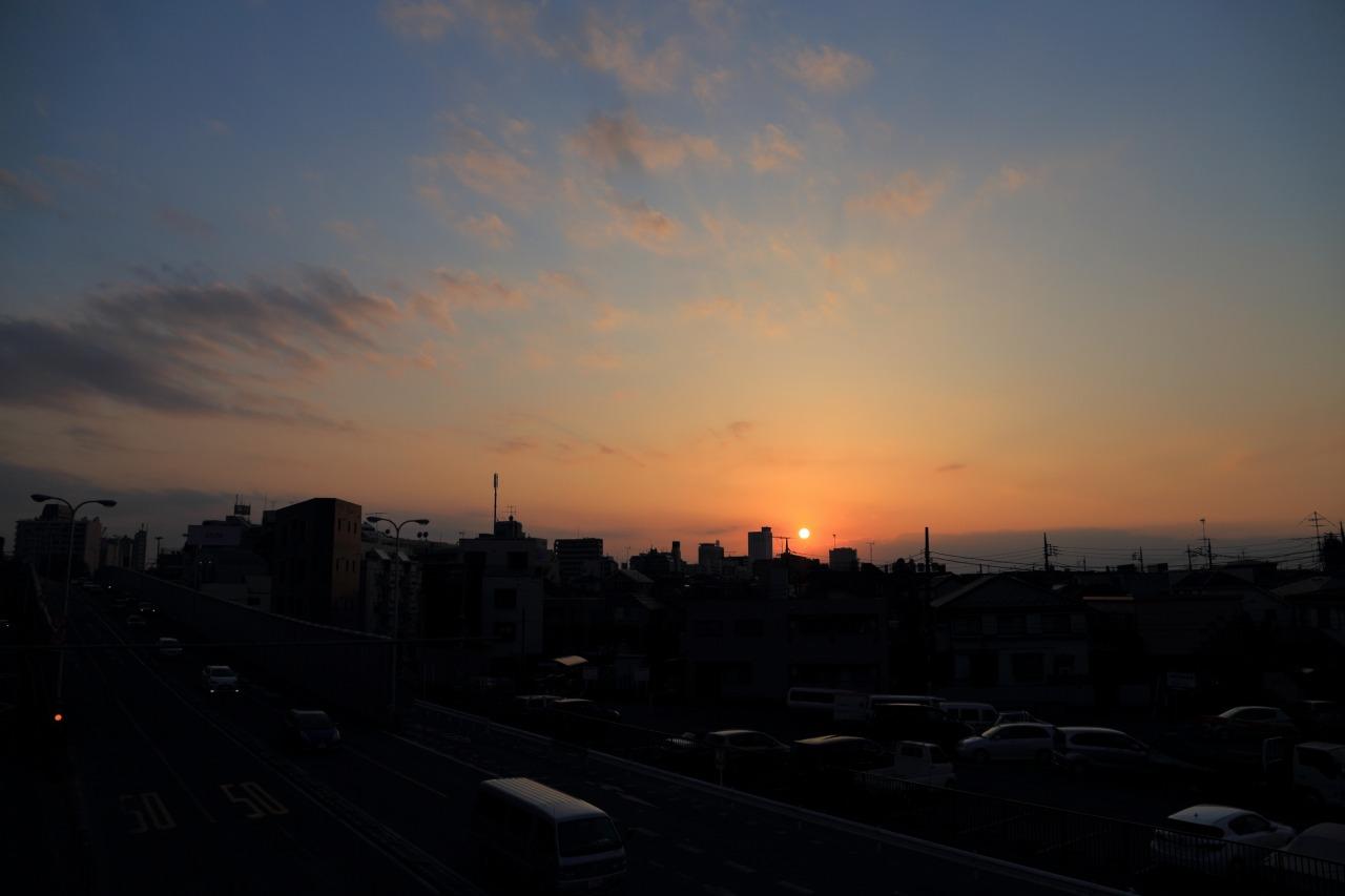 2014年2月23日 江古田夕景001