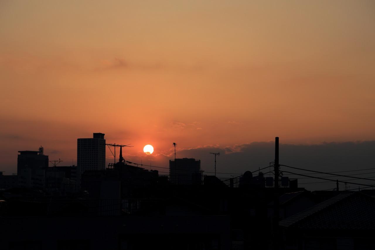 2014年2月23日 江古田夕景002