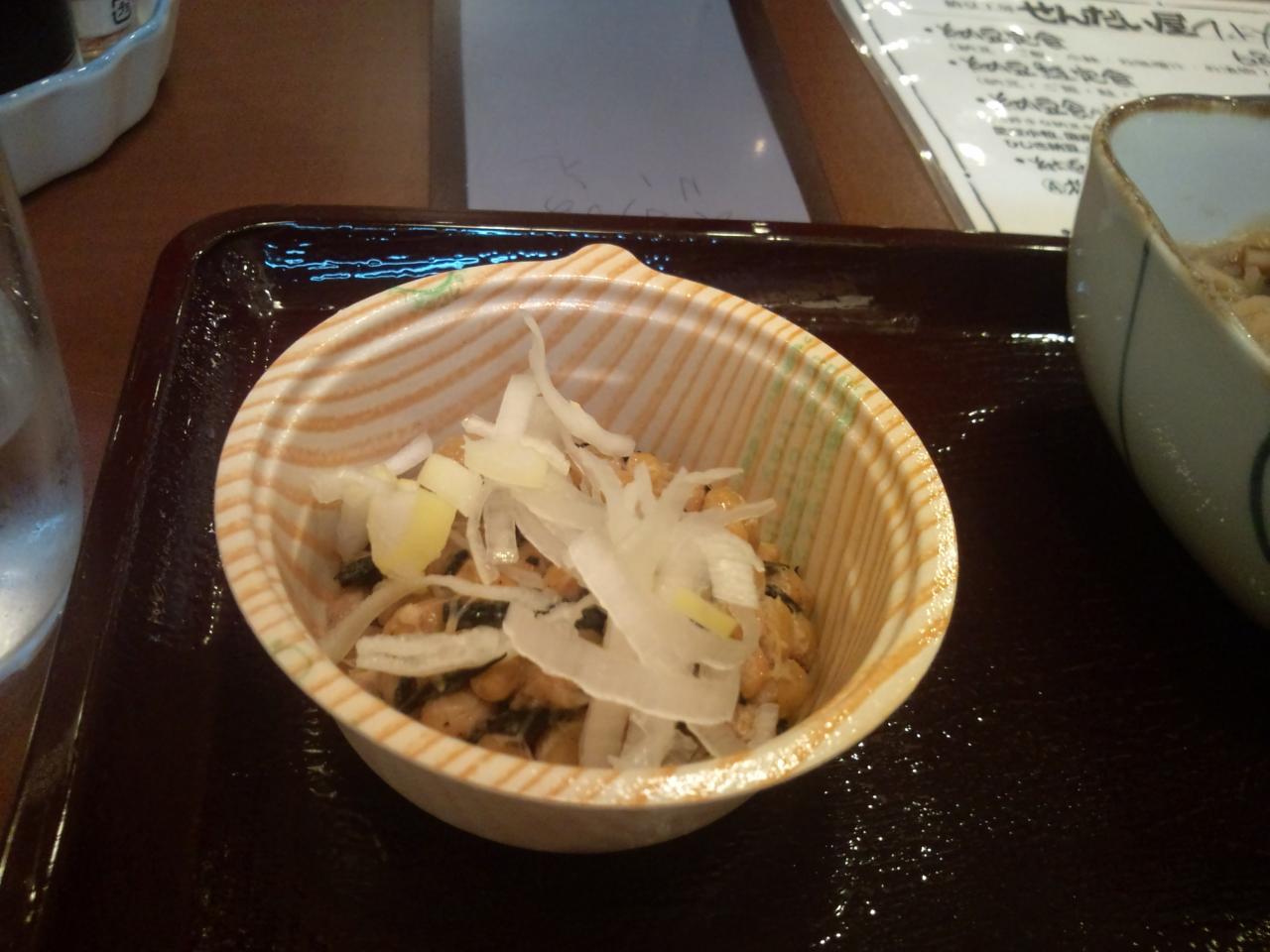 納豆工房せんだい屋池尻大橋店(納豆食べ放題定食)