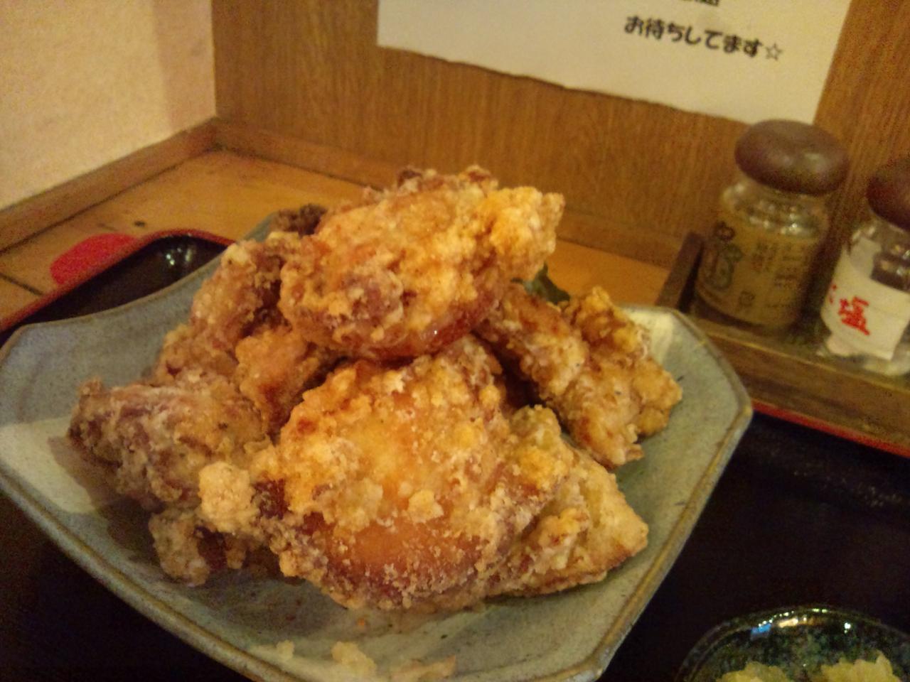 ぢどち亭秋葉原佐久間町店(からあげ定食)