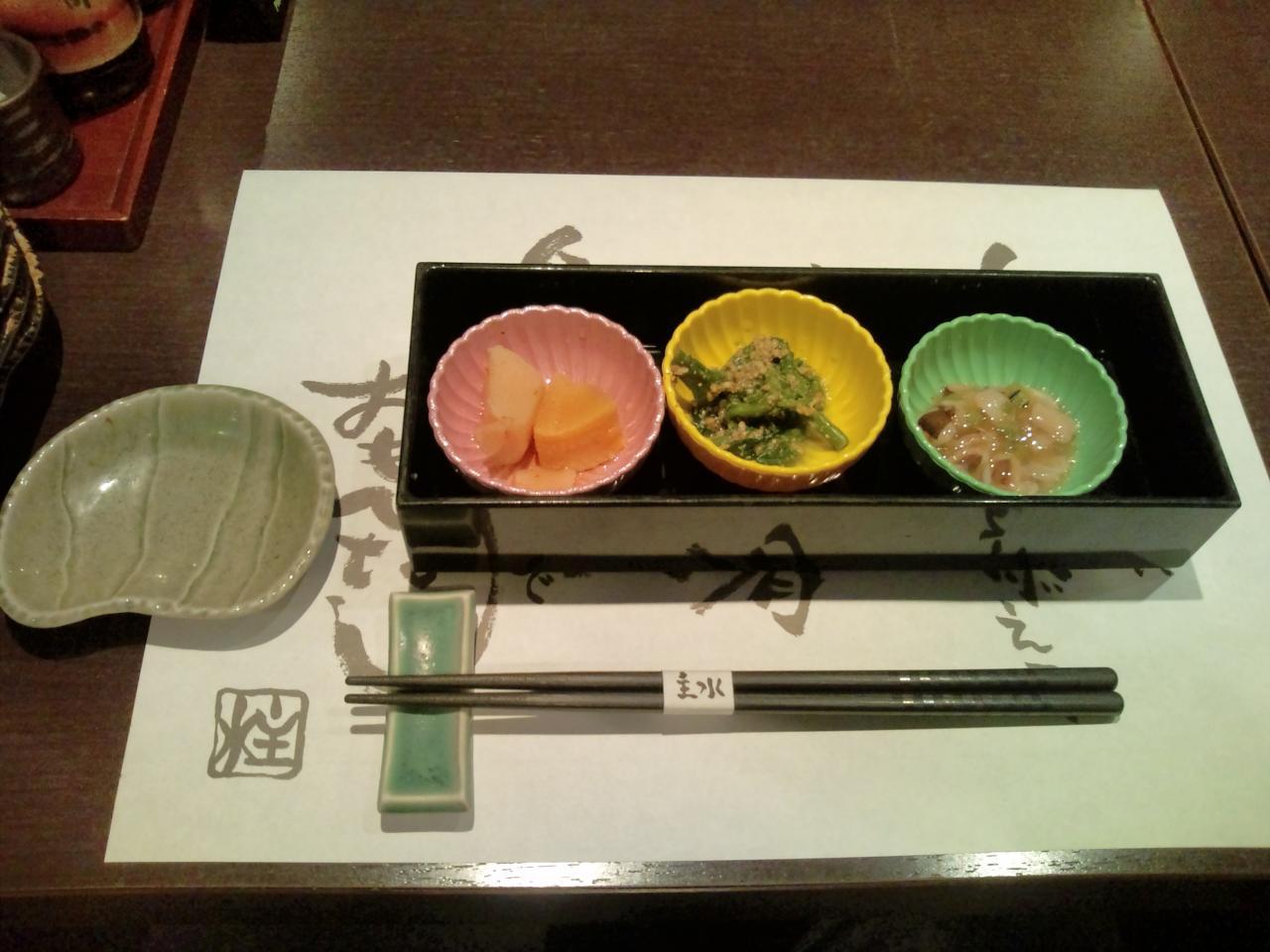 主水神田淡路町店(先付)