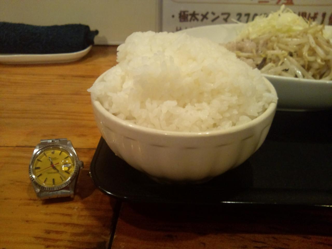 男の晩ごはん三鷹店(肉野菜定食)