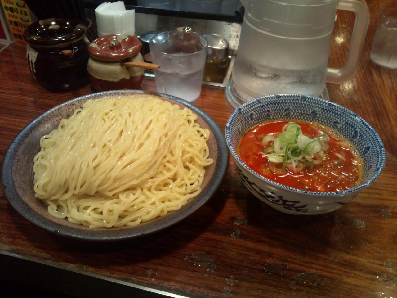 つけ麺大臣(辛つけ麺特盛り)