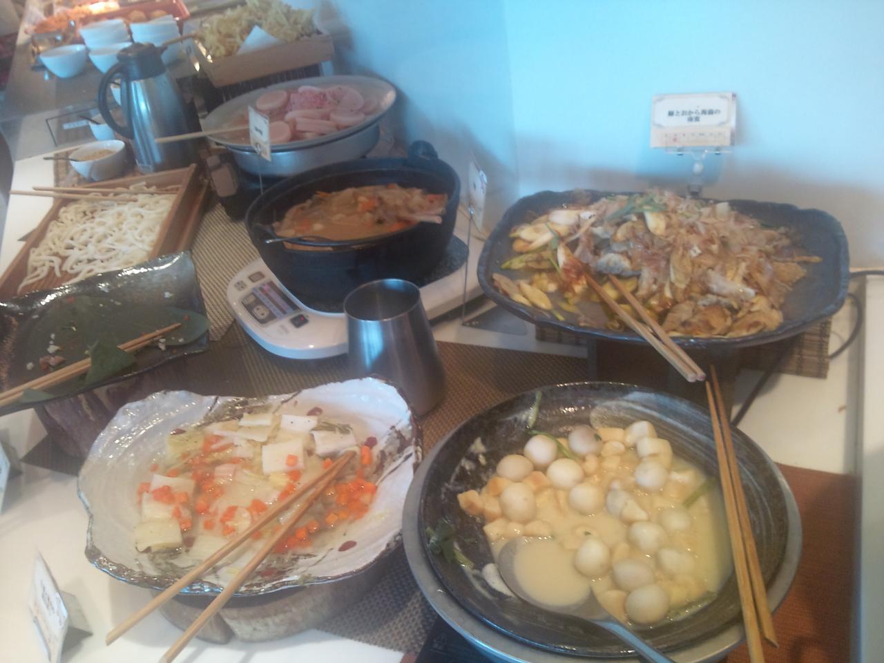 プレミアムビュッフェ(料理)