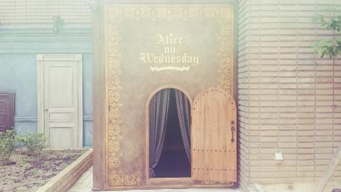 なんばの雑貨「水曜日のアリス」入り口