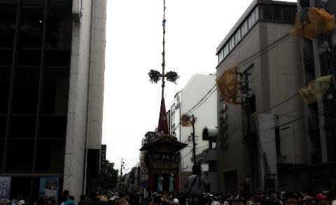 京都祇園祭のだんじり