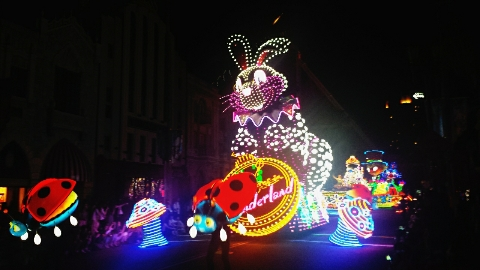 ハリーポッター時のusj夜のパレード