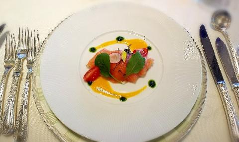 ホテルモントレラスール結婚式の料理写真