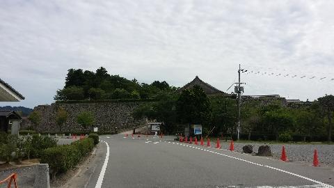 篠山城までの道のり