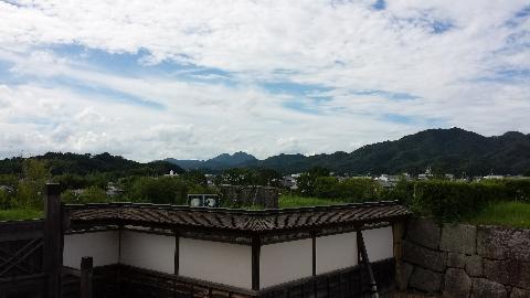 書院から見た風景