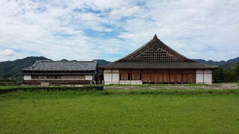 篠山城書院の建物