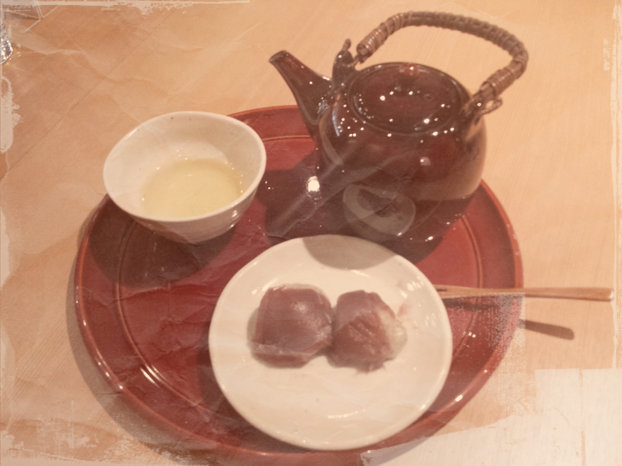 おやつにお茶