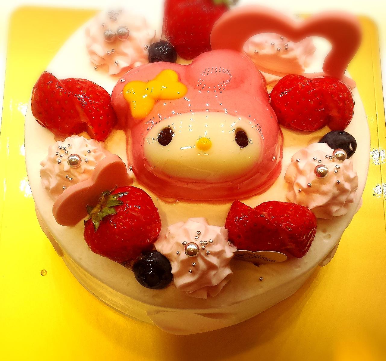 「マイメロ」ケーキはモンシェール