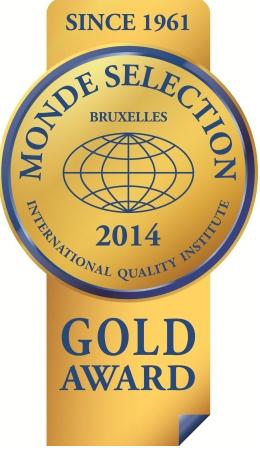 モンドセレクション2014のロゴ