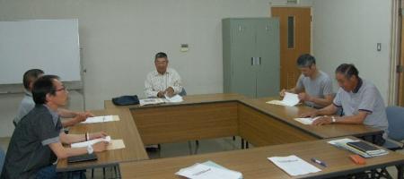 作州津山商工会久米地区工業部全体会議平成26年度