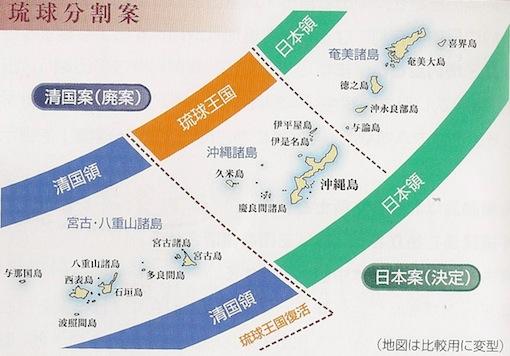 琉球分割案
