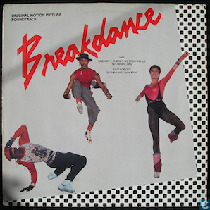 SOUNDTRACK「BREAKDANCE」