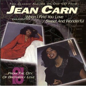 JEAN CARN「WHEN IN FIND YOU LOVE : SWEET AND WONDERFUL」