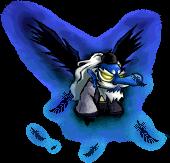 1603027ブルーブラック - 双天狗Eff
