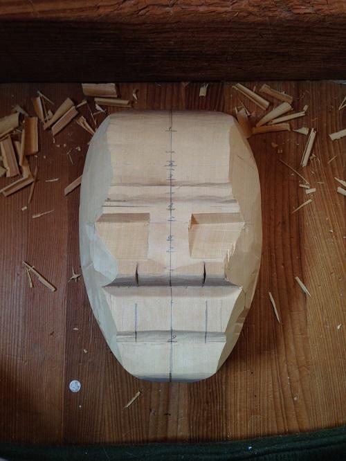 姥粗彫り1