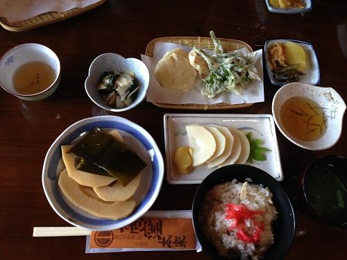 竹の子料理