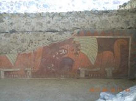 Teotihuacan 440PC ピラミッドの写真 1  2011 7 24