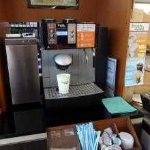 コーヒーのマシン
