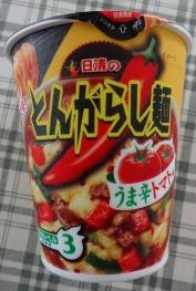 とんがらし麺 うま辛トマト味 95円