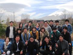 吊し雲と富士山とUTP