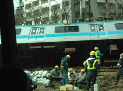 S20130223京浜東北線脱線事故
