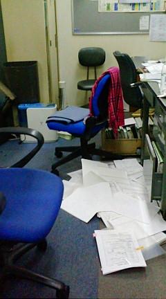 20111311 会社地震 書類拡散