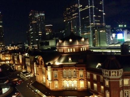 S20140405東京駅きって屋上夜景