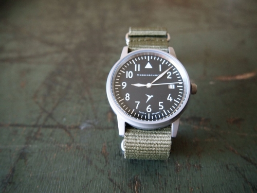 Messerschmittメッサーシュミットmilitarywatchミリタリーウォッチ時計
