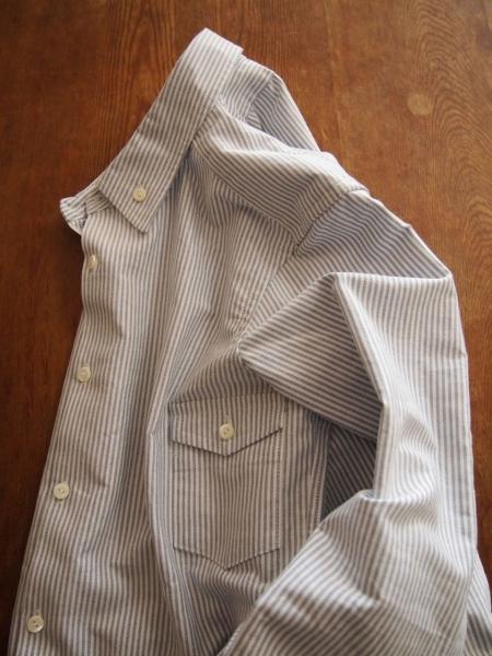 TATAMIZEタタミゼボタンダウンシャツストライプ01