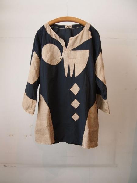 MITTANミタンハウサシャツ手織りラミー