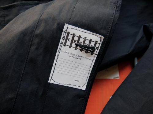 sleeperスリーパーtenderテンダースプリングコート黒05