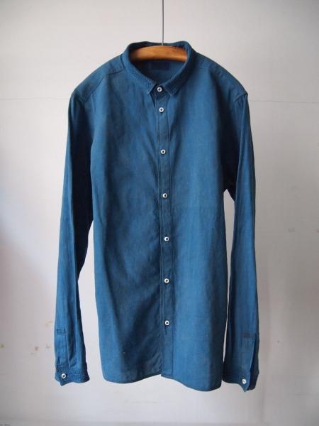 MITTANミタンkhadishirtsカディシャツindigo藍染め03