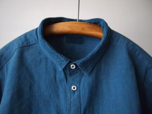 MITTANミタンkhadishirtsカディシャツindigo藍染め02