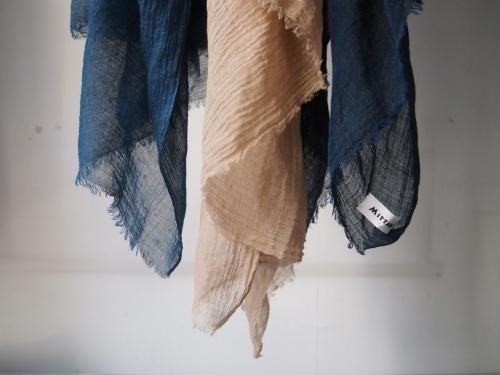 MITTANミタンkhadistoleカディストール藍胡桃コガネバナ染め01