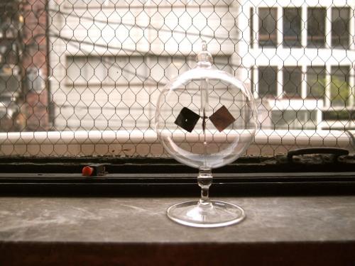 vogelホーゲルradiometerラジオメーターgermanyドイツ手吹きガラス01