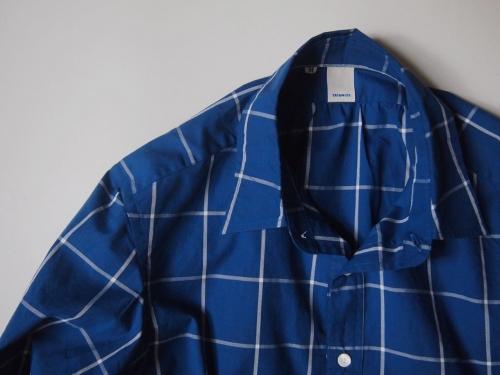 tatamizeタタミゼpullovershirtsプルオーバーシャツindigoインディゴ02